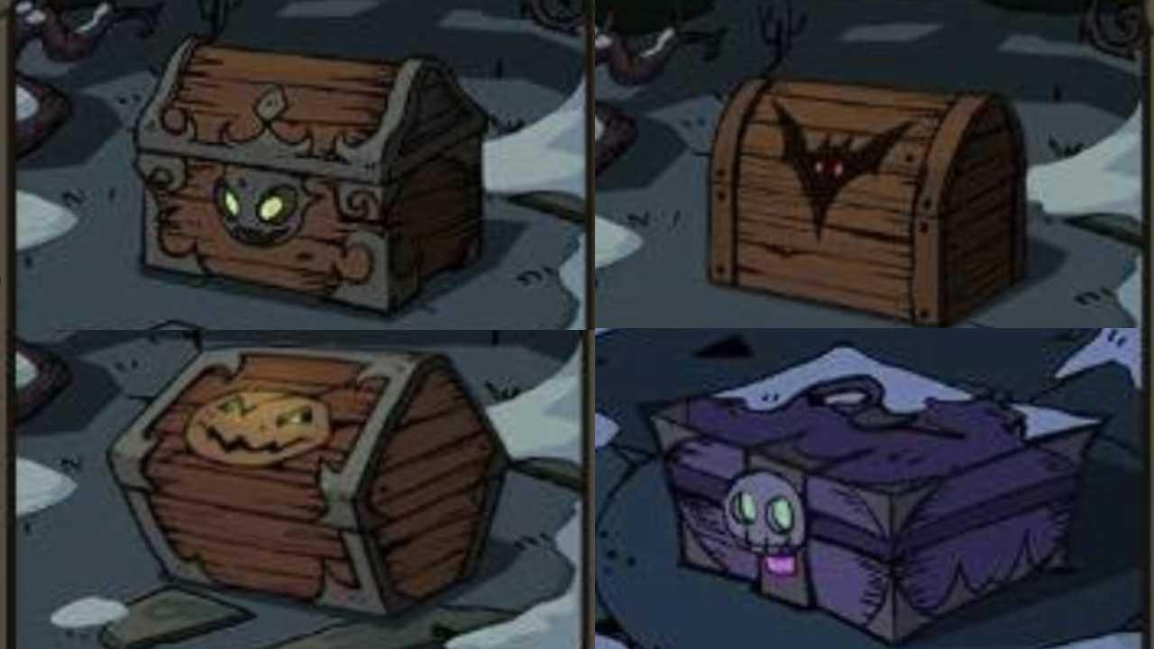 満月の夜宝箱